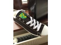 Norwich city shoes size 9 RRP £38. Brand new