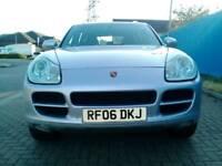 Porsche cayyan 2006 4.5 Sports Auto SatNav Sunroof low mileage 92k F/S/H. P/ex. Welcome