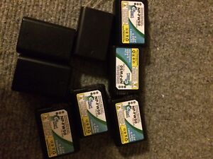 8 Generic NP-FW50 Batteries + 1 Charger for Sony DSLRs