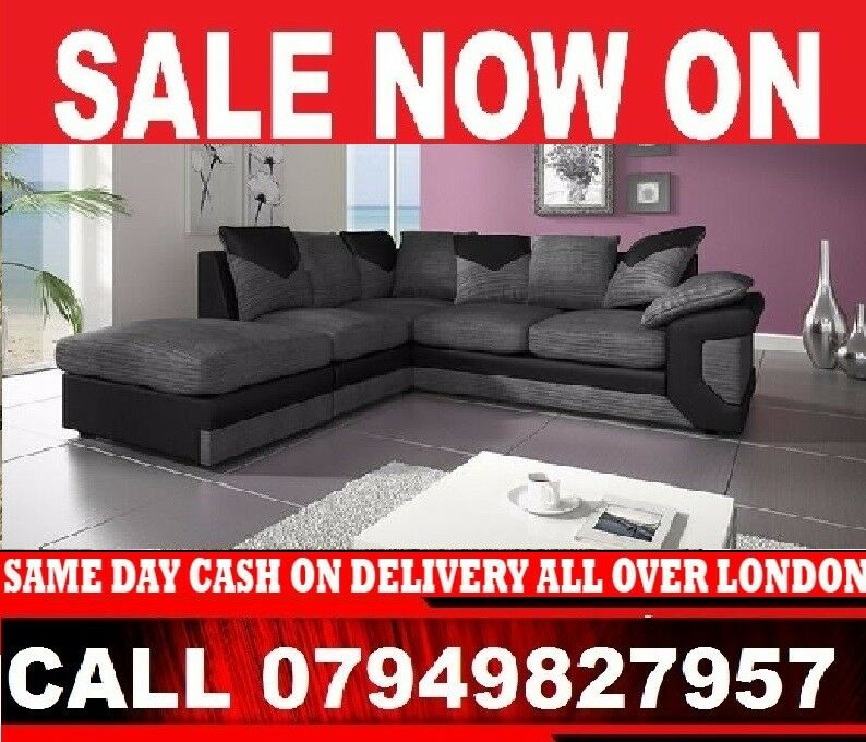 SUPREME HIGH QUALITY 2 and 3 SEATTER SOFA AND CORNER SOFASDINOin Finchley, LondonGumtree - BRAND NEW AND STYLISH DINO SUITES AVAILABLE IN DOUBLE TONE COLOR BLACK GREY OR BROWN BEIGE Corner Sofa / 3 2 Seater Only For 349DIMENSIONSCorner to armrest 250cm Corner to chaise 220cm Height from floor to scatter cushions 90cm Depth of seat padded...