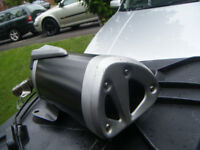 KAWASAKI Z750 2007 EXHAUST ,NEW , JUST SHOP SOILED SO FEW MARKS COMPLETE AS PICTURES WITH CABLES