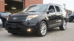 2013 Ford Explorer LIMITED,Navi,Rear Camera,Sunroof,Leather,