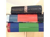 Harry Potter books £2 each