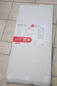 Kudox brand new white towel radiator