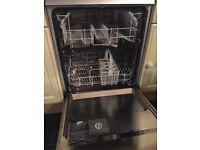 Silver Zanussi Dishwasher