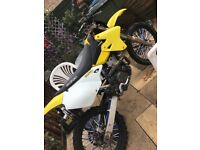 Drz400 off road 2006 green lamer motor cross