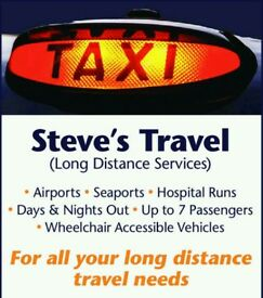Airport transfer / long distance taxi services Lincoln & surrounding