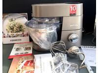 Kenwood Chef Titanium New KVC7300S 1500Watts guarantee in Box