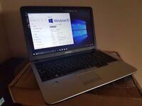 Samsung RV510 laptop, Pentium Dual Core T4500, 4GB DDR3, 750GB HDD, Windows 10 Creator Edition