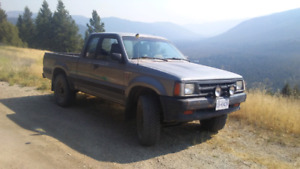 1990 mazda b2600i 1800 obo or trade for Honda civic or accord