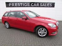 MERCEDES-BENZ C CLASS 2.1 C220 CDI BLUEEFFICIENCY EXECUTIVE SE 5d 168 BH (red) 2013
