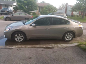Nissan altima 2007 safety and etest