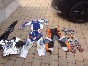 Vêtements de motocross