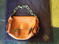 MINI ROXANNE MULBERRY IN CHESTNUT, used only a handful of times