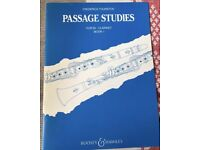 Passage studies for clarinet
