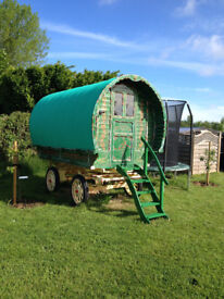 Traditional bowtop gypsy wagon, beautiful, excellent condition, useable straight away