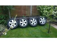 """VW T5 Transporter Thunder 17"""" Alloy Wheels and Tyres"""