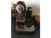 Nesspresso coffee machine good condition and working order