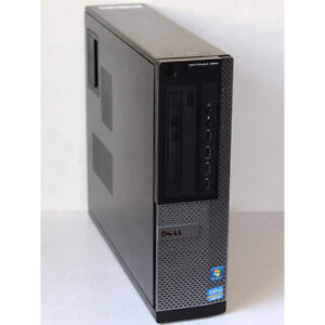 Dell 990 SFF Desktop PC i3 3.30GHz 4GB RAM 160GB DVDRW Windows 7