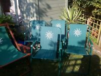 Picnic Chairs - set of 4