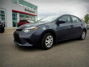 2014 Toyota Corolla 54.00$/sem 1-855-981-4366