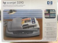 HP Scanjet 5590 Flatbed Scanner with AutoDoc feeder and negative/slide scanner