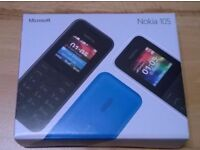 Nokia 105 UNLOCKED OPEN TO ALL NETWORKS ***BRANDNEW IN BOX***