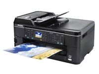 EPSON WORKFORCE 7515 A3+ PRINTER, SCANNER AND PHOTOCOPIER / WITH INK