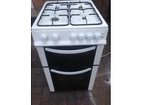 White Gas cooker 50cm. ..free delivery