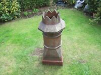 Crown chimney pot