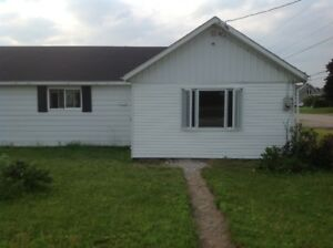 Pet friendly 2 bdrm house with detached garage, large yard