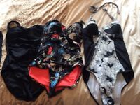 3 size 12 Next swimming costumes