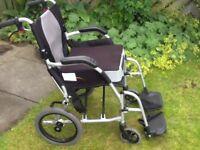 Wheelchair. KARMA manual. Ergo Lite Series KM-2501. As new