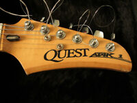 Quest Atak 1 electric guitar made in Japan possibly 70s/80s