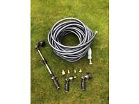 Quality hose & attachment set