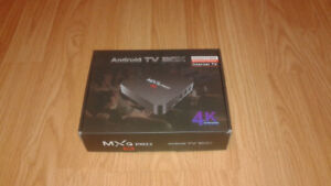 Brand new Android Streaming TV box