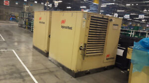 75HP Ingersoll-Rand Air Compressors - Two Available!