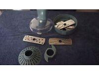 Morphy Richards model: 48905 Slicing and grating machine