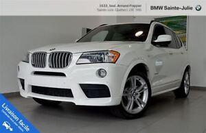 2014 BMW X3 xDrive28i, Gamme Sport M, Garantie 160 000Km