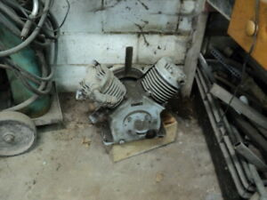 heavy duty air compressor for a 5 hp