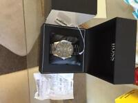 Hugo boss watch with tags