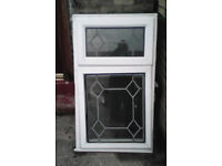 White top fanlight opening window 645 wide by 1125 high