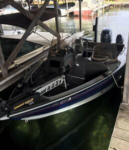 """2005 Lund Mr. Pike 18'4"""" boat with yahama 150 4 stroke"""