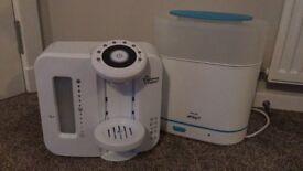 Tomme tippie prep machine and advent steriliser