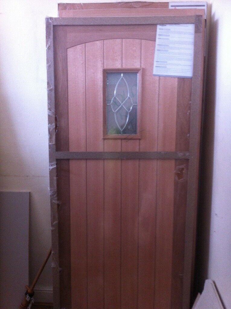 Cottage Oak Triple Glazed External Door