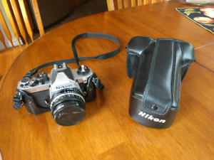 Nikon FM2 35mm film camera with 50mm f1.8 lens