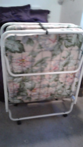 Lay-away bed never used