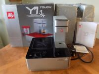 Francis Francis Expresso Machine Illy Y1.1 Touch Coffee Machine Black