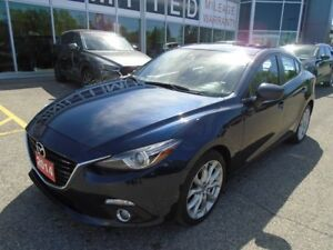 2014 Mazda Mazda3 **LEATHER, SUNROOF, EVERY FEATURE!!** GT TECH