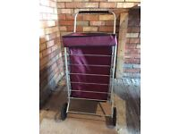 Shopping trolley in excellent condition